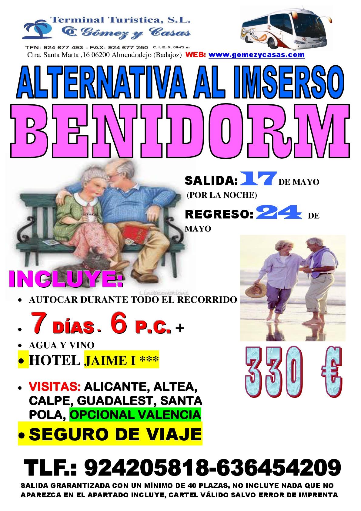 Descuentos en viajes en Cáceres y Badajoz